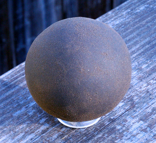 Unfinished dorodango