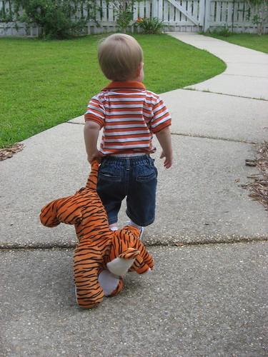 Look - it's Clavin & Hobbes!