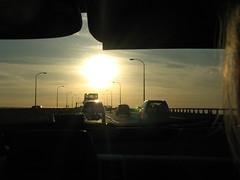 Take me away to better days (Sarah Ross photography) Tags: newyorkcity bridge sunset sunlight car point vanishingpoint manhattan horizon perspective distance far depth visor greenwichvillage inthedistance sarahr89 sarahrossphotography