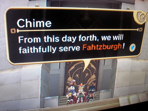 Serve Fahtzburgh, or die.