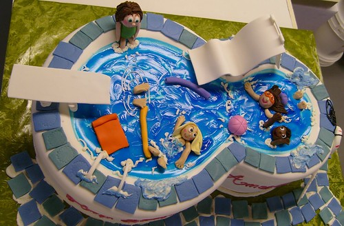 """Swimming Pool"" - for Amanda's 8th birthday"