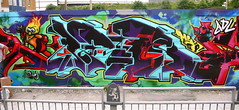 AROE MSK. FIRE N' ICE. (Heavy Artillery) Tags: storm loss copenhagen graffiti brighton doom artillery gary msk gals heavy prevention aroe adl bsm gebes jiroe gazr