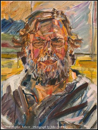 stephen ashurst portrait of John Crouchley