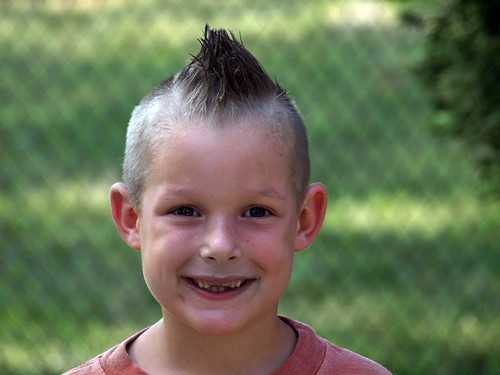 Mohawk Haircut for Kids