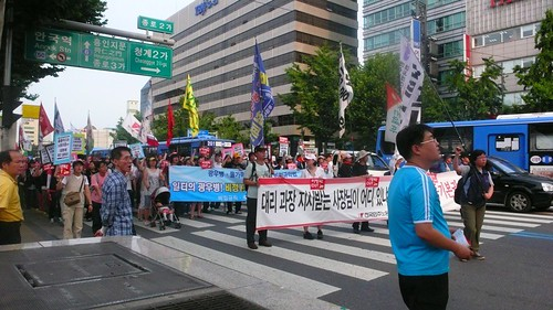 Beef protests in Seoul