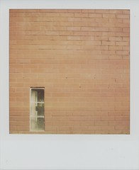 (r.yen) Tags: nyc brick wall polaroid sx70 harlem integral instant minimalism blend