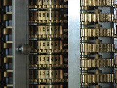 Difference Engine No. 2 counting wheels
