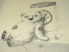 teddybear sketch