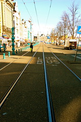 Tram Tracks (ehsan.k.khan) Tags: holland lines amsterdam nikon tracks tram parallel d40
