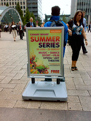 Canary Wharf Summer Series #1
