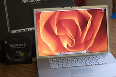 Yeah! It's here! (emeraldcitycreative) Tags: apple computer macintosh macbookpro canon40d 17inchwidescreen