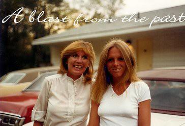 Me and my sister, Susan