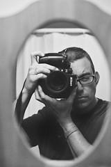 Derek with Nikon F4