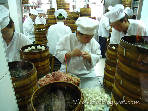 xiao long pao third step