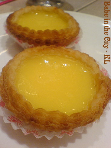 CI - mini egg tarts