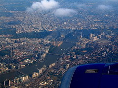 London from above (West end) (oobwoodman) Tags: uk england london thames britain londoneye parliament bigben aerial fromtheair vueduciel ausderluft