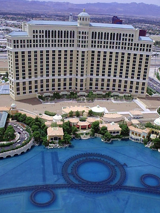 The Bellagio Hotel, Las Vegas.