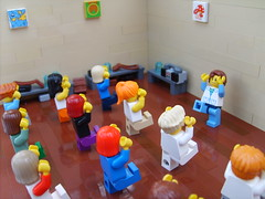aerobics (S.L.Y) Tags: lego exercise gym aerobics