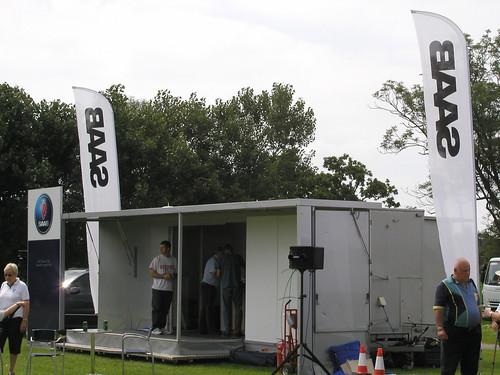 Saab Hospitality Suite