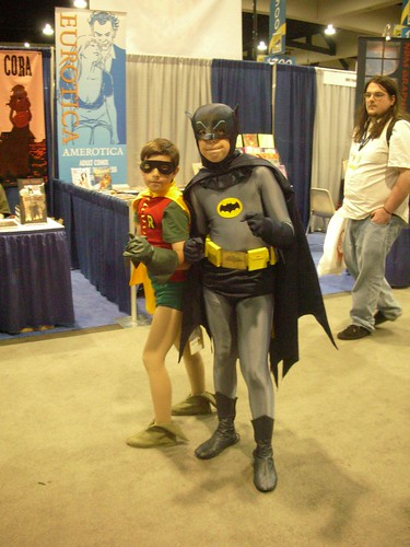 TV's Batman & Robin age 10