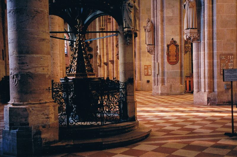 Inside Cathedral in Germany