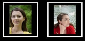 Two FZ28 portrait photos at Panasonic.net
