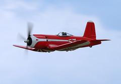 "Goodyear F2G-1 ""Super"" Corsair (Chris M 44) Tags: air super racing corsair reno venture goodyear eaa oshkosh racer f2g1 01pictobrowser"