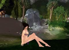 kajirea retreat_001 (morenaslave) Tags: secondlife slave kajira gorean iaomai