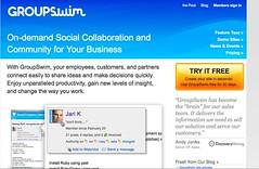 GroupSwim home page