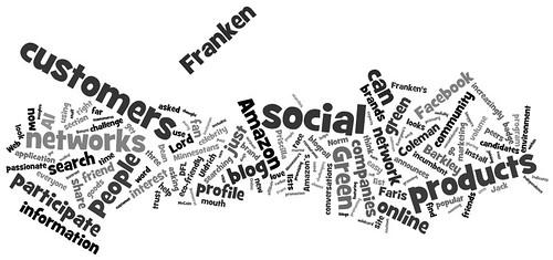 Wordle Cloud of the Internet Marketing Blog - 08/15/08 by DavidErickson.