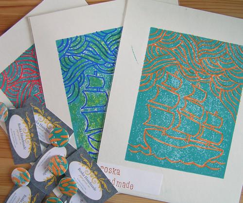 Mel Roska's prints