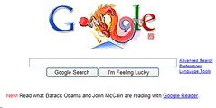 Google provides Obama & McClain's reading lists