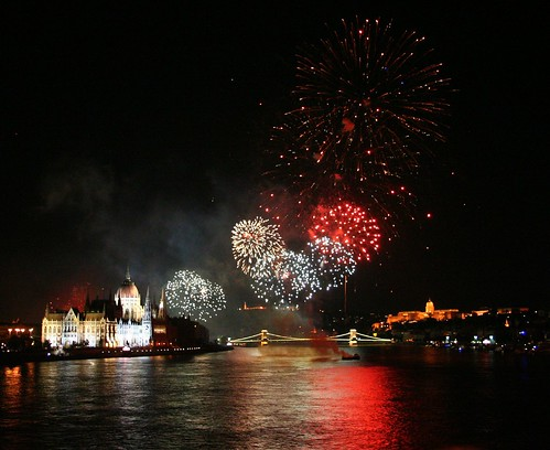 20th of August - Firework in Budapest