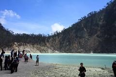 Kawah Putih,Patuha Volcano, Indonesia.