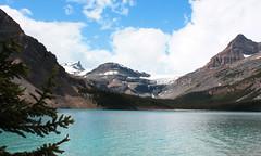 Bow Lake and Bow Falls, Icefields Parkway..1 (goobersmyn) Tags: banffnationalpark canadianrockies yohonationalpark banffjasperyohoglaciermtrevelstokenationalparks