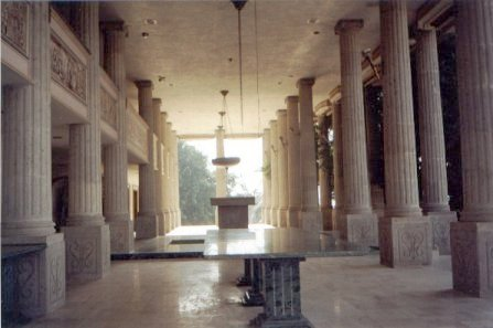 Partenon de Durazo: la sala