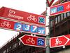 fitti segnali per le bici