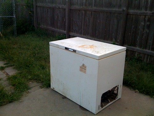 Old freezer