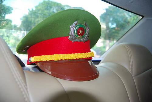 Gorra de un militar vietnamita