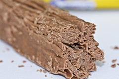 flake (Enigma 80) Tags: food brown high junk sweet chocolate flake cadbury sugar eat fold cocoa crumb