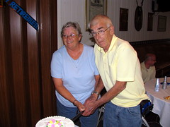 Cutting the Cake (ecgriffith) Tags: party st cake james hornell judy stjames retirement kofc