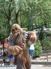 2003 Star Wars Weekends : Walt Disney World : Chewbacca Dancing