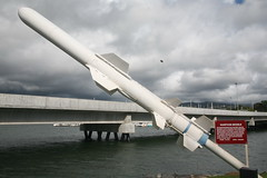 Harpoon Missile (cliff1066) Tags: bridge museum hawaii oahu navy submarine worldwarii pearlharbor missile torpedo harpoon controlroom poseidon usnavy officer wahoo engineroom polaris galley ussmissouri deckgun antiaircraft caliber ballistic navigationsystem parche ussbowfin historiclandmark conningtower wardroom battleflags submarinemuseum quadgun