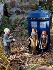 An Ood with the Doctor and Donna