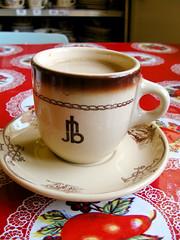 Ranch Hand Coffee (prima seadiva) Tags: mug dishes restaurantware tan restaurantchina dish diner tanbody vintage