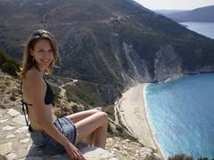 Kefalonia, Myrtos beach by ondtom36 - Let's go down this way