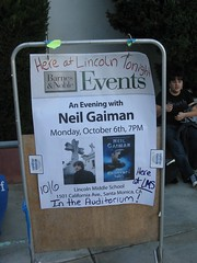 Neil Gaiman Sign
