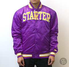 Starter Arch Collegiate Jacket - Purple