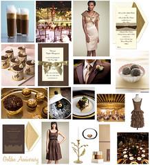 2926153029 e0b82e1384 m Baú de ideias: Decoração de casamento marrom (chocolate) e outras cores