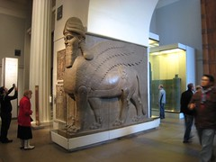London - British Museum (dbray46) Tags: uk greatbritain england sculpture london english archaeology ancient europa europe european unitedkingdom palace bull gb british britishmuseum winged 2008 archaeological assyria assyrian sargon